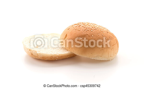 Hamburger bun - csp45309742