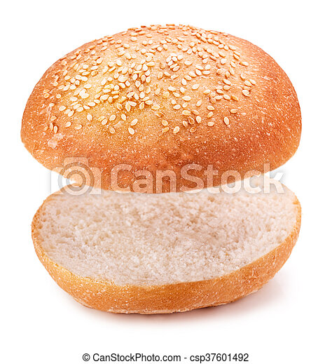hamburger bun - csp37601492