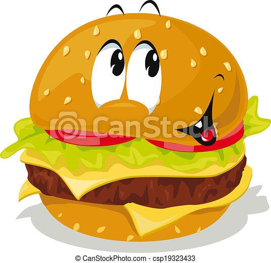 hamburger - csp19323433