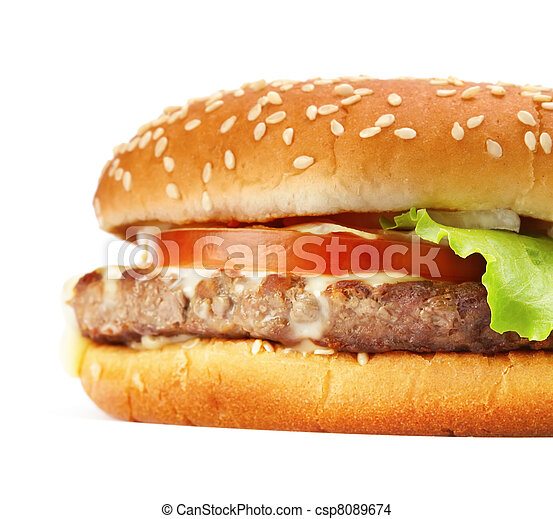 hamburger - csp8089674