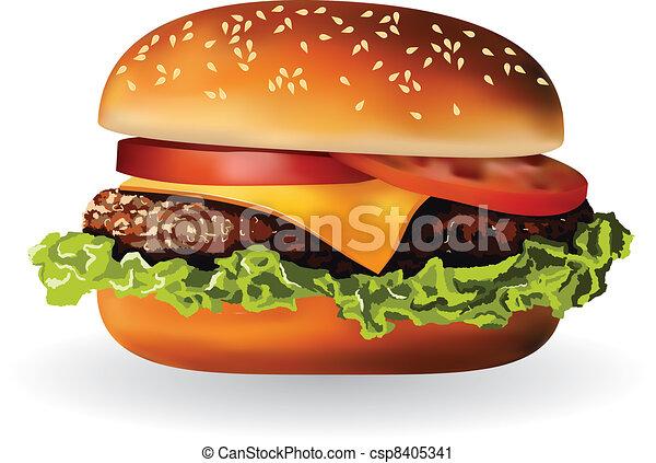 hamburger - csp8405341