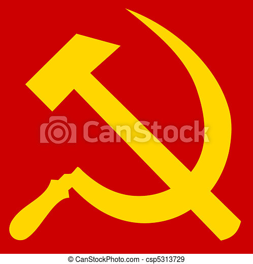 Hammer and Sickle - csp5313729