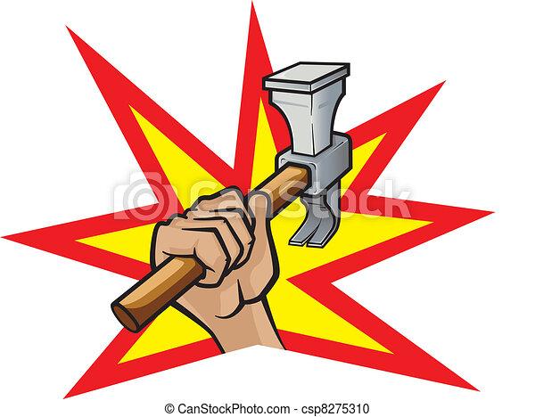 Hammer Down - csp8275310