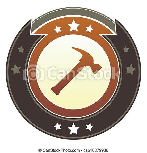 Hammer imperial button - csp10379936