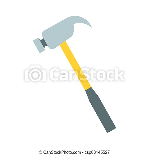 hammer tool icon - csp68145527