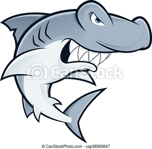 hammerhead shark mascot clipart picture of a hammerhead eps rh canstockphoto com hammerhead shark clipart free hammerhead shark clipart black and white