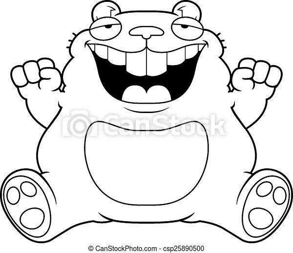 Hamster dessin anim graisse s ance sitting graisse - Hamster dessin anime ...