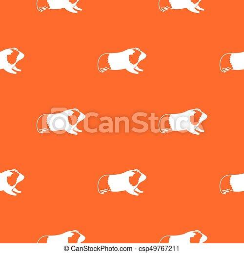 Hamster pattern seamless - csp49767211