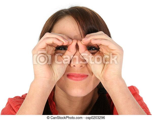 Hand Binoculars - csp0203296