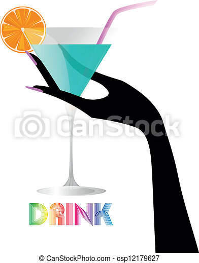 hand cocktail - csp12179627