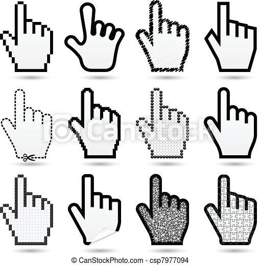 hand cursors - csp7977094