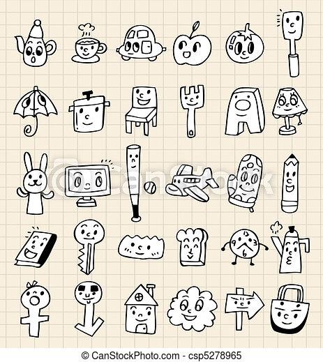 Hand Draw Cute Cartoon Hand Draw Cute Cartoon