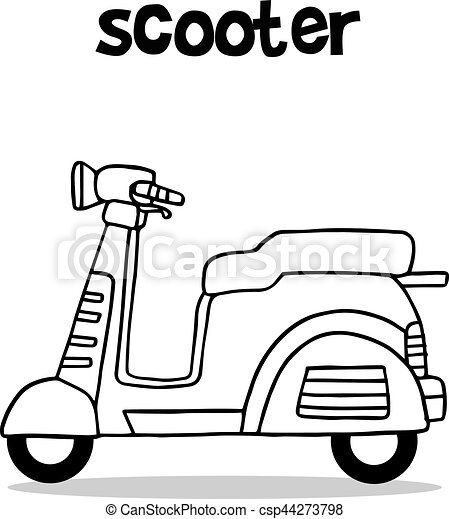 Hand Draw Of Scooter Vector 44273798 furthermore The Five Or Seven Chinese Brothers Lesson Plans besides Arbre De Roue besides Jet Ski Sketch 10380648 also Athl C3 A8te Brin Flyboard 38419013. on scooter plans