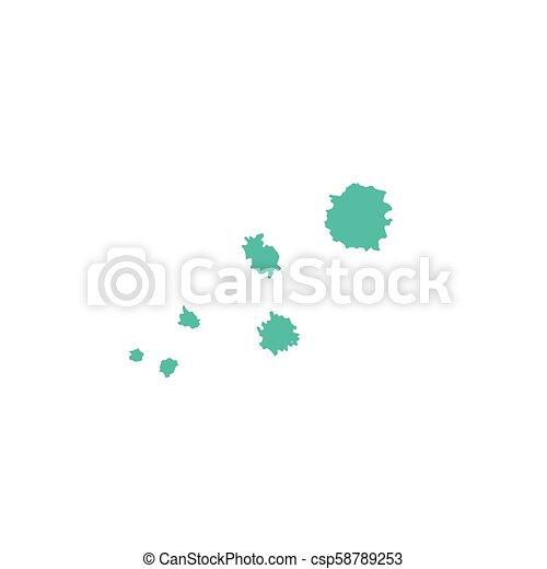 Hand drawn blots - csp58789253