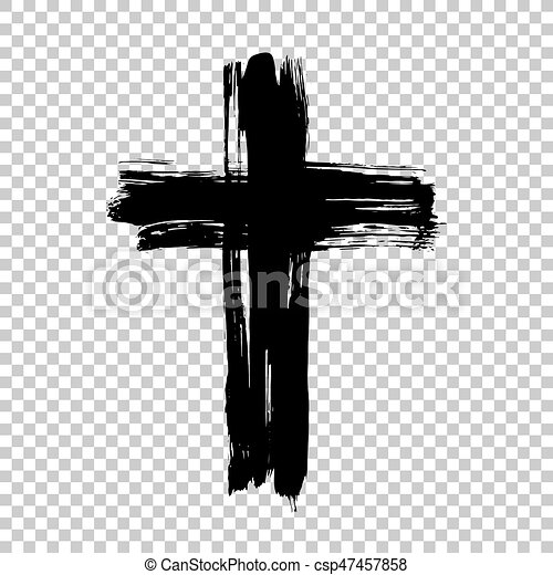 hand drawn cross grunge cross cross made with brush stroke on rh canstockphoto com cross vector c++ cross vector product calculator