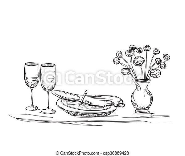 Rose Love Flowers clipart - Restaurant, Dinner, Flower, transparent clip art