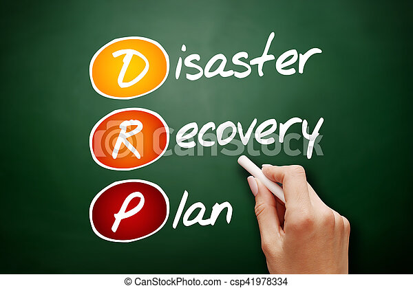 Hand Drawn Drp  Disaster Recovery Plan Acronym Business  Stock