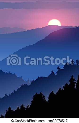 Really Cool Lama With Sunset Clip Art