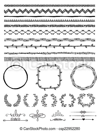 Transparent Bracket Frame Clipart Free - Vector Border Transparent  Background , Free Transparent Clipart - ClipartKey