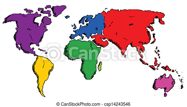 Hand drawn world map eps vector search clip art illustration hand drawn world map vector gumiabroncs Gallery