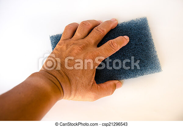 Hand for clean - csp21296543