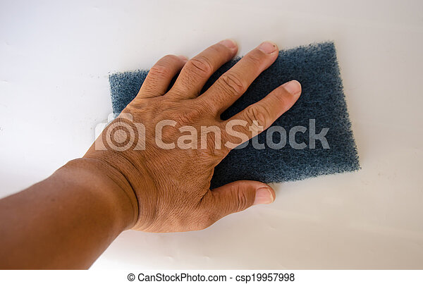 Hand for clean - csp19957998