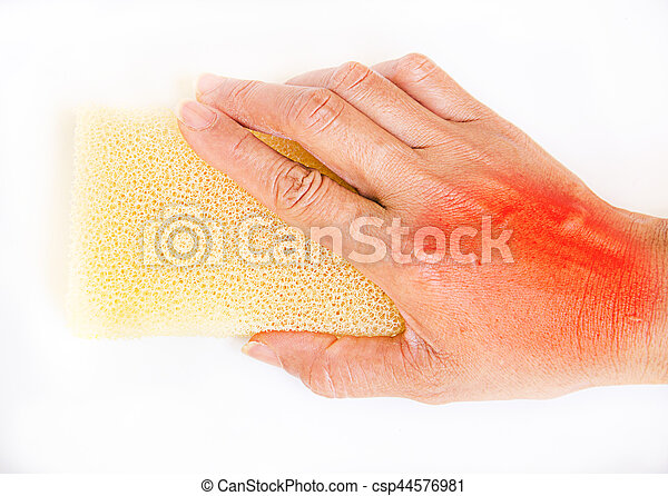 Hand for clean with pain - csp44576981