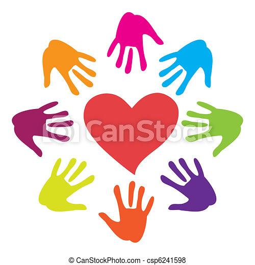 hand-heart - csp6241598