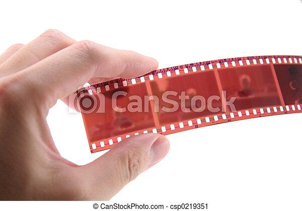 Hand Hold 35mm Film - csp0219351