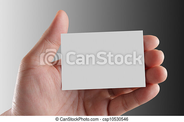 Hand holding business card hand holding an empty business card hand holding business card csp10530546 colourmoves