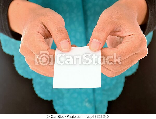 Hand holding business card stock photo search photographs and hand holding business card csp57226240 colourmoves