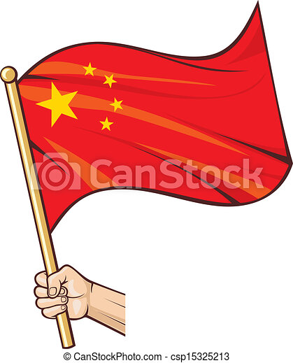 hand holding china flag vector clip art search illustration rh canstockphoto com china clip art for social studies board china clipart flag