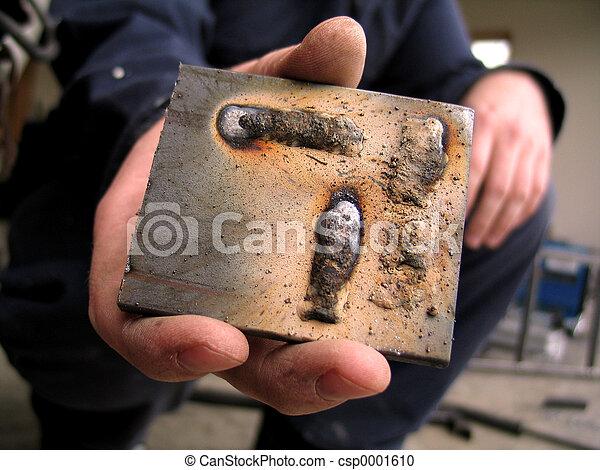 Hand holding scrap - csp0001610