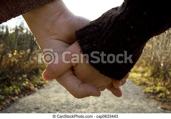 Hand in hand - csp0633443