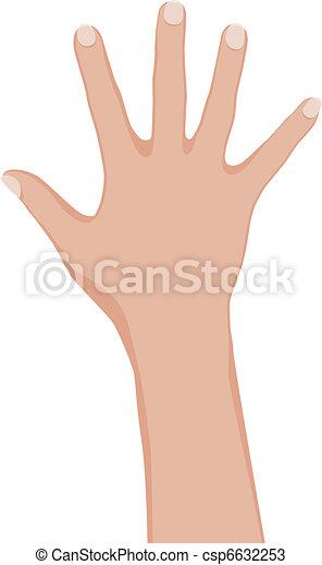 hand., kvinna - csp6632253