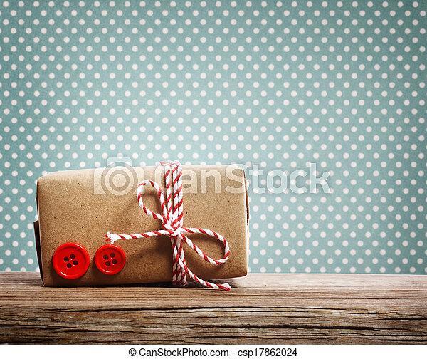 Hand made gift box - csp17862024