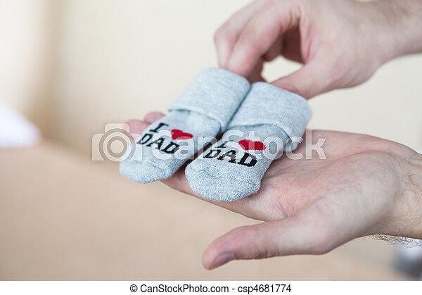 Hand made socks - csp4681774