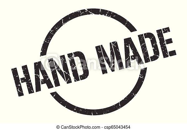hand made stamp - csp65043454