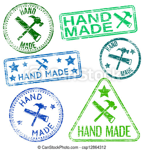 Hand Made Stamps - csp12864312