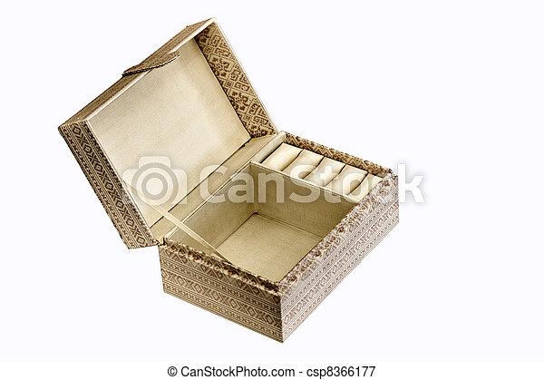 hand made thai silk box - csp8366177