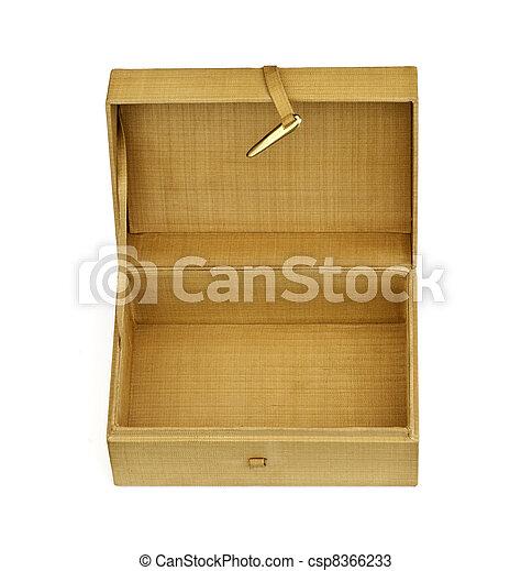 hand made thai silk box - csp8366233