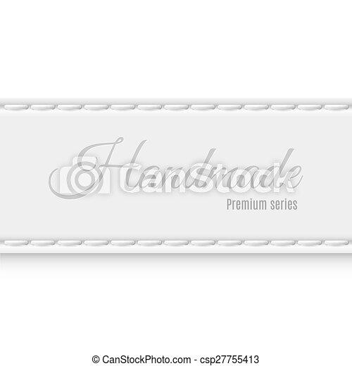 Hand made - csp27755413