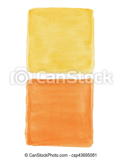 hand painted watercolor background - csp43695081