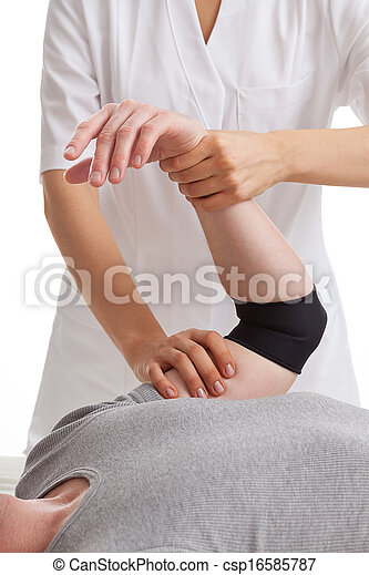 Hand physiotherapy - csp16585787