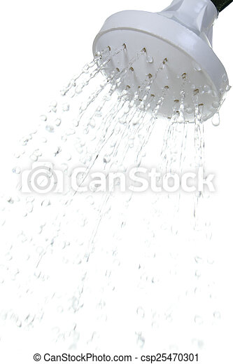 Hand pouring water from watering can - csp25470301