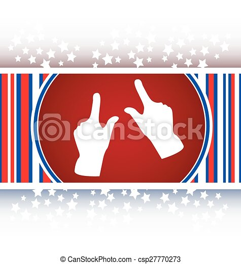 hand set icon, web button isolated on white - csp27770273