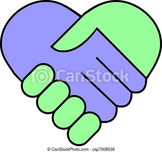 Hand shake - csp7008538