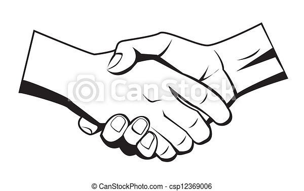 hand shake vector clipart search illustration drawings and eps rh canstockphoto com handshake clipart black and white corporate handshake clipart