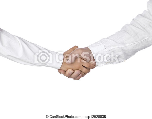 hand shaking - csp12528838
