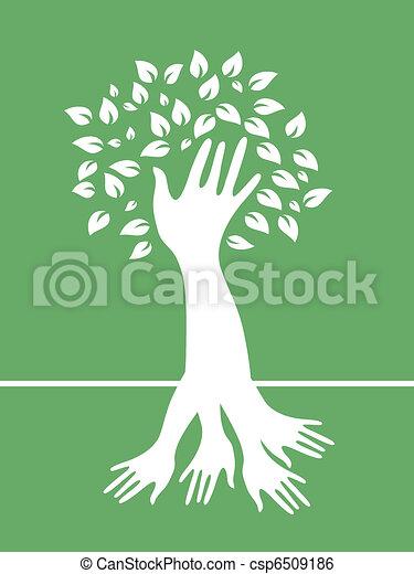 hand tree - csp6509186